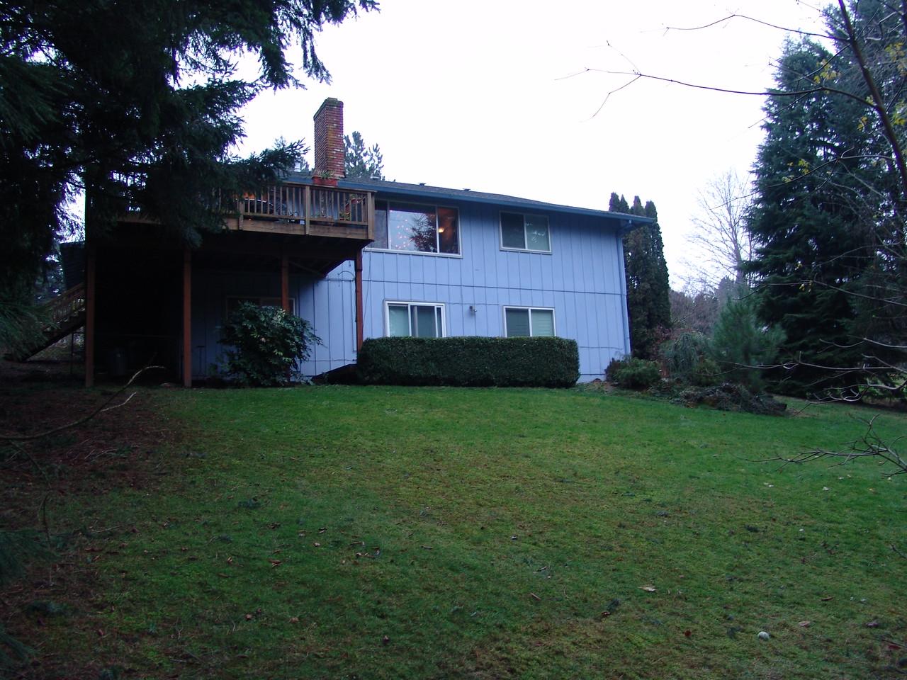 MY HOUSE AND BACKYARD