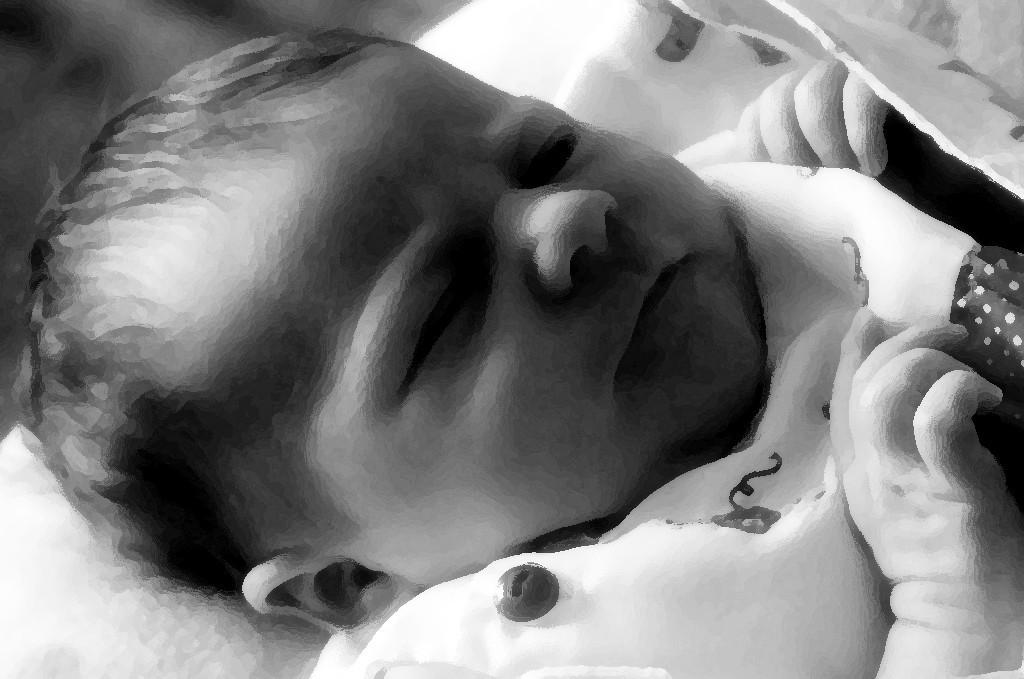 Alyx Newborn B&W