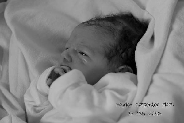 Hayden's Birth and First Few Days