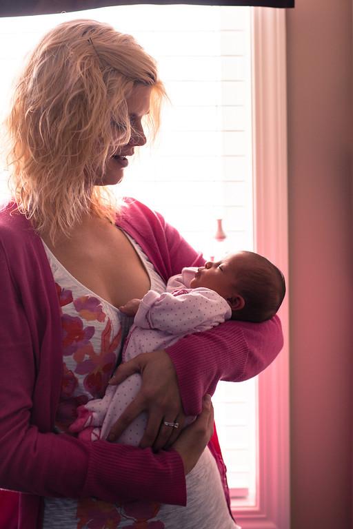 Baby Evie - 2 weeks old Apri 07, 2013