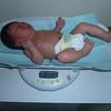 Hayden's first checkup.
