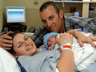Baby Jett Briscoe Moritz Birth, Fallbrook CA January 23, 2013