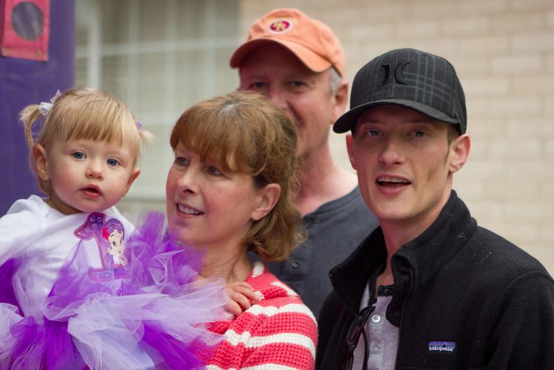 Three generations. Mary, Gary & Justin with Jaidyn