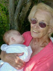 Joey & his Great-Grandma