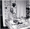Clarence Baggett with grandson Michael Marcotte