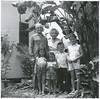 Helen's Uncle Alvin Larkey and wife Ella with Helen Marcotte and kids (Janine, Sherri, Michael, Michelene)