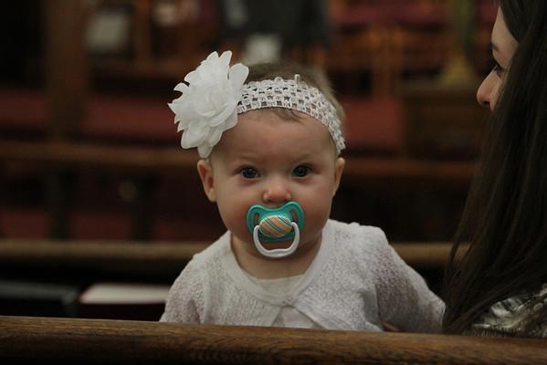 Bailee Baptism 2-16-14