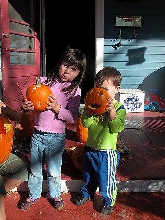 Kailey & Casey Halloween '06