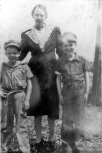 Grandma Ballard and boys
