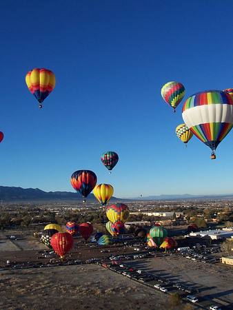 Ballooning in Taos - Oct. '06