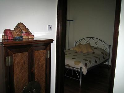 entering guest room