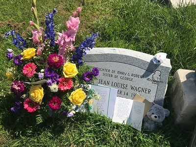 Grave of Baby Jeanie Louise Wagner