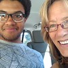 """08/28/16. This is the last image I took of Logan and I before I headed off to Baltimore International Airport. We said so long for now and for me, it is always hard. But this guy has """"bigger fish to fry"""" than hanging out with his mom."""
