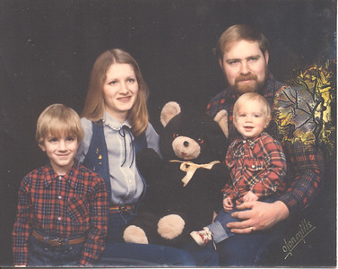 Lumber Jack Family Photo