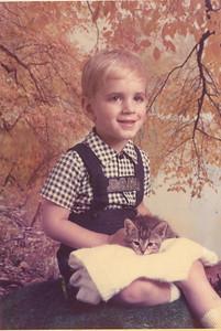 Daniel and Killer-3 yrs-Sept 1979