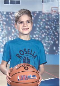 Chris - Roselle basketball player
