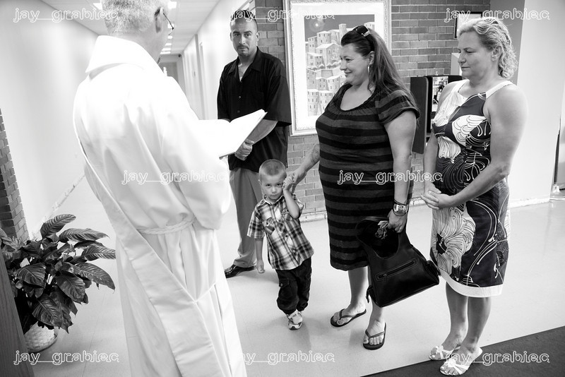 Baptism at St. Damian Church on Sunday, July 18, 2010 in Oak Forest, Illinois.