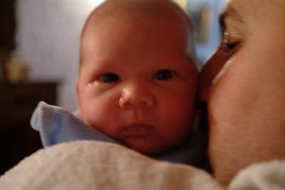 Two weeks old Davide.