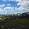 View from near the top of Trail Ridge Road (Rocky Mountain National Park)