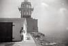Barbara at the San Pedro lighthouse, 1948
