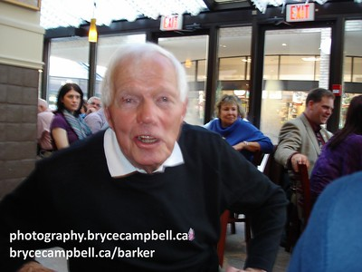 Don Barker at the 100th Grey Cup in Toronto.