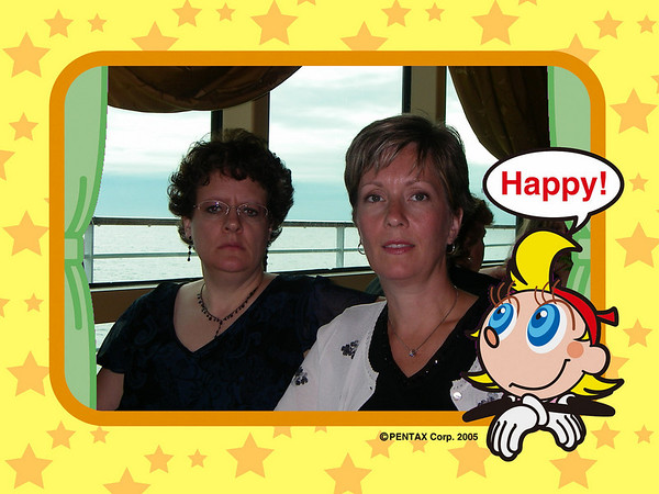Alaska Cruise 2006 First formal Night