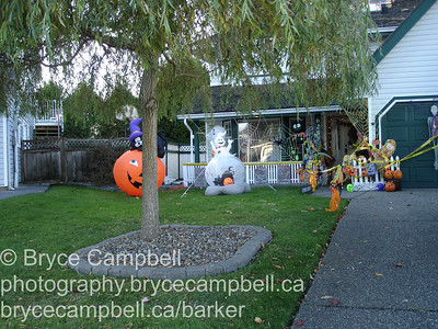 Stirlings house at Halloween, October 31, 2009 186a St Surrey BC
