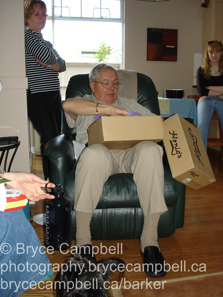 Margaret and Michelle's Birthday and Father's Day in Surrey, June 18 2006