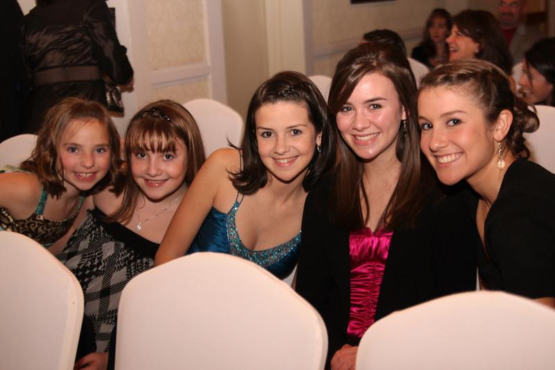 Kari, Emma, Samantha, Elyssa, Rachel