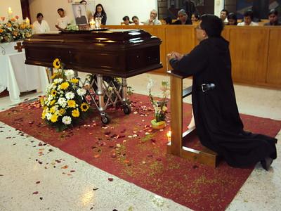 Basil's funeral