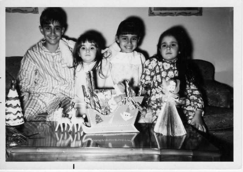 Left to right: Phil Battaglia, Margaret Giammarresi, Dorothy Battaglia, and Angela Giammarresi