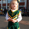 Look at that cute little cheerleader!