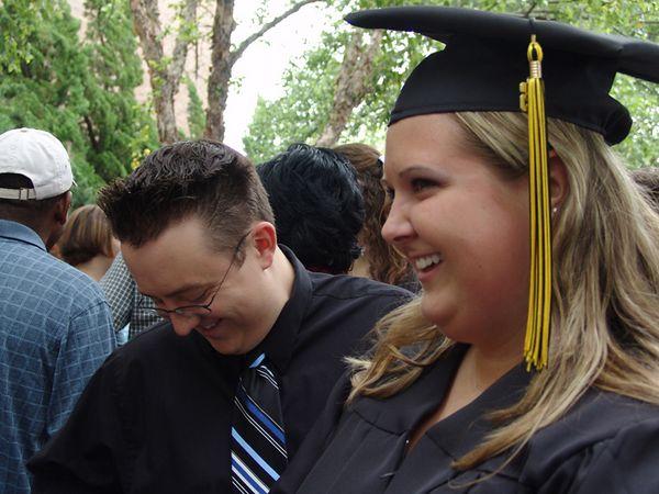BeCCa & her Brother, Chris<br /> Virginia Beach Pavillion<br /> Kellam HighSchool Graduation<br /> 18 June 2005
