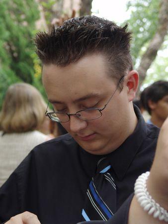 Chris<br /> Virginia Beach Pavillion<br /> Kellam HighSchool Graduation<br /> 18 June 2005