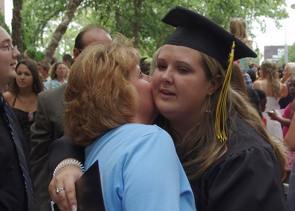 BeCCa & Her MoM!<br /> Always there, cradle to graduation, to hold her hand and encourage her.<br /> Kellam HighSchool Graduation<br /> 18 June 2005