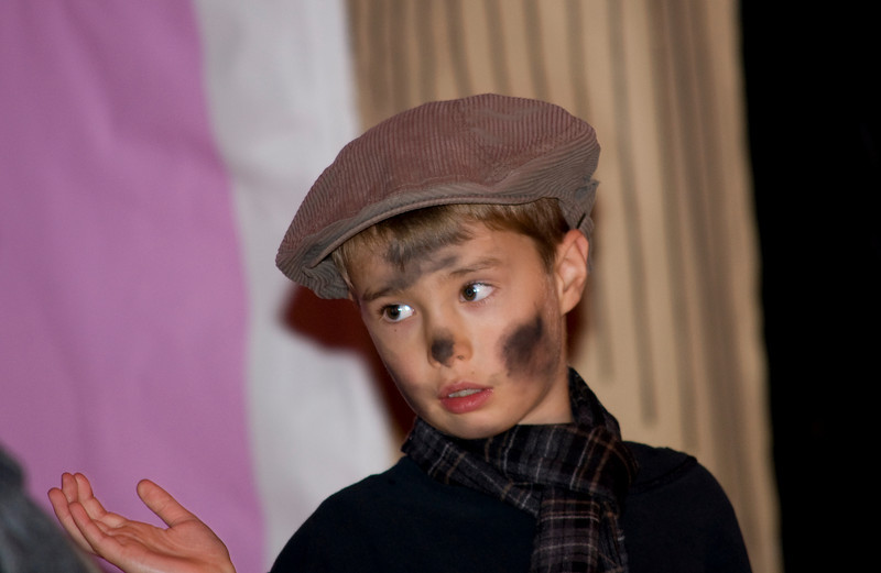 Billy as chimney sweep