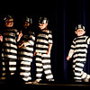 The kindergarteners perform Jailhouse Rock