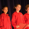Three meltingly-adorable fifth graders