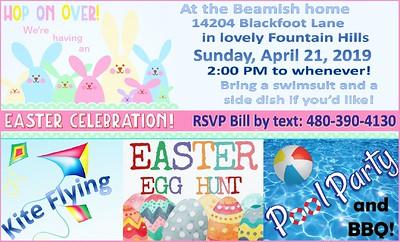 2019 Easter Invitation