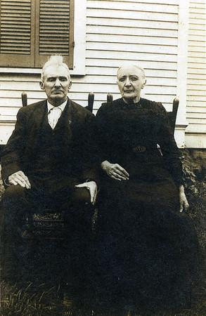Joseph & Rachel Parents of: Orph Beaty Grand Parents of George Curtis Beaty.  50th Aniversary of Joseph & Rachel