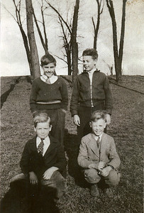 Front: Harlod, Herman Back: Ray, Ed