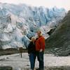 Glacier near Seward.