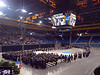 The Dept of Economics Commencement ceremony gets rolling. About 500 graduates marching in.