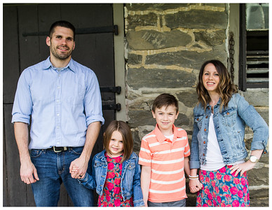 Becker family spring mini session