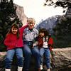 Yosemite, with Mom, Drew and Katy (1996).