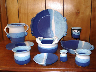 Blue and White Glaze