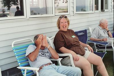 Allison Sheldon, Nancy (Bedor) Snyder, Clyde Haller