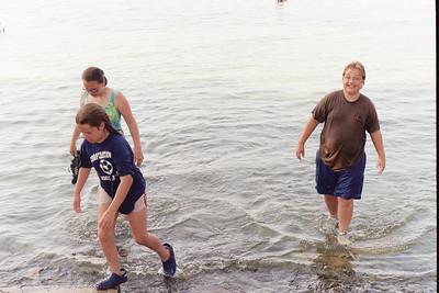 Kristy Kistler (back left), Jennifer Snyder, Dylan Snyder