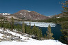Still Ice on Tioga Lake at the end of June
