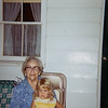 Greatgrandma Dietrich (Anna Margaret Ganss) and Chris<br /> 1967